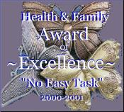 Health & Family Award of Excellence